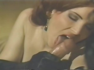 Vintage Blowjob Coupled with Anal Cumshot