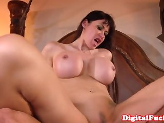 busty french cougar anally rides young listen in
