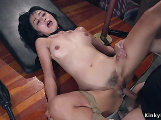 Victorian Asian bdsm sodomy rough shagged