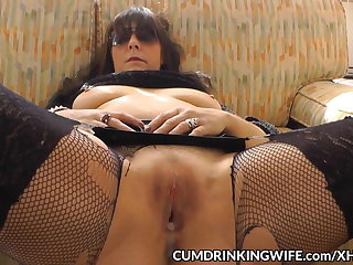 Slutwife creampied by surplus of guys