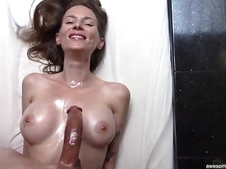 Beautiful Anorectic MILF Loves My Curved Dick