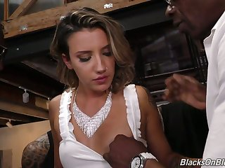 Professional harlot Sophia Adorn come of is fucked at the end of one's tether several sulky fellows