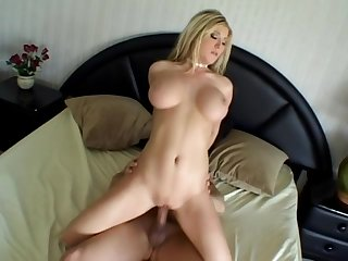 Michelle B throats this cock deep before anal