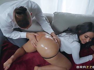 Premium milf gets anal fucked merciless