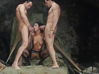Fabulous adult movie Double Penetration craziest uncut