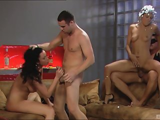 Two husbands switch their hot wives Bijou plus Kristi Lust