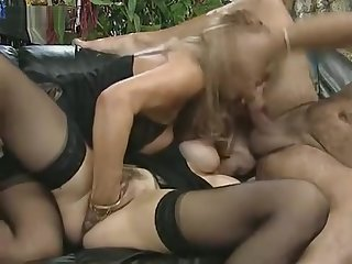 Colette Sigma coupled with Babette Blu Fist Fuckijng