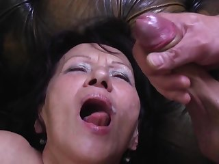 Young Obloquy Busts his Load more Greeedy Mouth of GILF Kataline