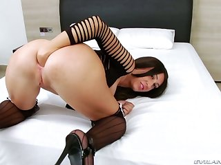 Anal-insane whore Eloa Lombard is fucked overwrought hot blooded dude