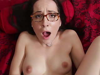 Cutie With Glasses Had Sex In Anus