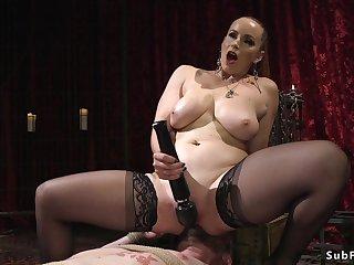Divine whore sodomy fucks male slave
